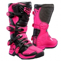 Мотоботы FOX Comp 5 MX Junior Pink