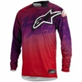 Мотоджерси Alpinestars Charger Red/Purple