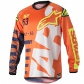 Мотожерси Alpinestars Racer Braap Orange/White