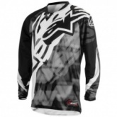 Мотожерси Alpinestars Racer Grey/Black