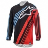 Мотожерси Alpinestars Racer Supermatic Black/Red