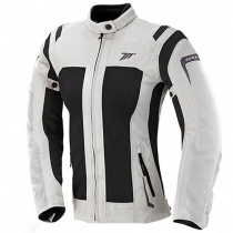 Мотокуртка Seventy SD-JT46 Summer Touring Woman White/Black