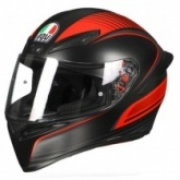 Шлем AGV K1 Warmup Black/Red Mat