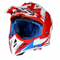 Шлем Airoh Aviator 2.3 AMS2 Bigger Red/White/Blue