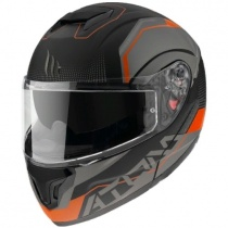 Шлем MT Atom SV Quark Black/Orange