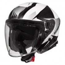 Шлем MT Jet Thunder 3 SV Wing White/Grey/Black