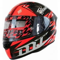 Шлем MT KRE Snake Carbon Hawkers Red/Black/White