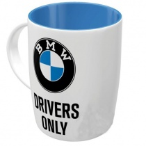 Чашка BMW Drivers Only White/Black/Blue